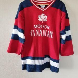 Molson Canadian Canada HockeyJersey
